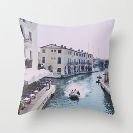 Holiday in the Sun Throw Pillow