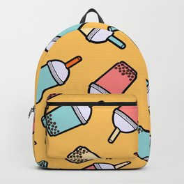 Bubble Tea Pattern Backpack
