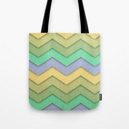 Spring day Chevron Tote Bag