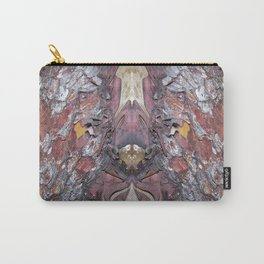 """""""Face in the Tree"""" Pacific Madrone Reflection Carry-All Pouch"""