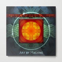 Art by Machine Metal Print