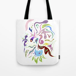 My pieces of invisible worlds II Tote Bag