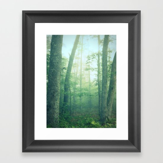 Tell Me Your Secrets Framed Art Print