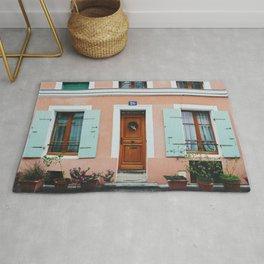 Rue Crémieux House Front Rug