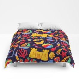 Summer beach pattern Comforters
