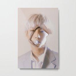 Hole In Your Face | Baekhyun Metal Print