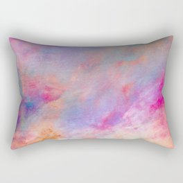 Galactic paint Rectangular Pillow