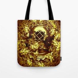gold diver Tote Bag
