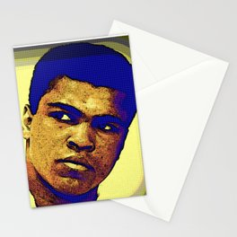 Ali The Greatest Makes Medicine Sick Stationery Cards