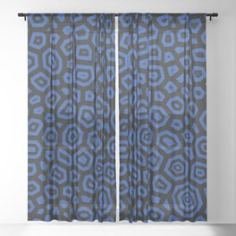Experimental pattern 30 Sheer Curtain