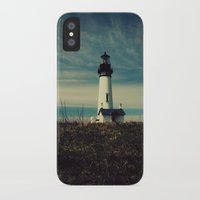 lighthouse iPhone & iPod Cases featuring Lighthouse by Yellowstone Photo Studio