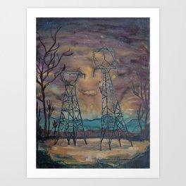Power Structures Art Print