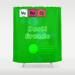 Basil Grande Shower Curtain