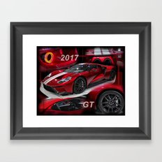 2017 GT Framed Art Print