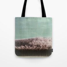 Abstract ~ Snowed landscape  Tote Bag
