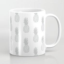 Light Grey Pineapple Coffee Mug