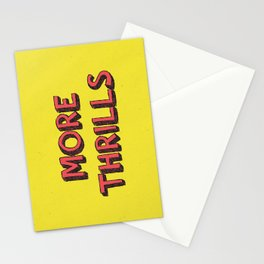 More Thrills Stationery Cards