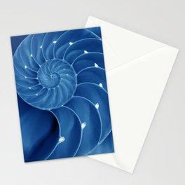 Malibu Blu Mood - Chambered Nautilus Stationery Cards