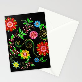 Ukrainian Flowers Stationery Cards