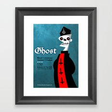 Papa is watching you! Framed Art Print