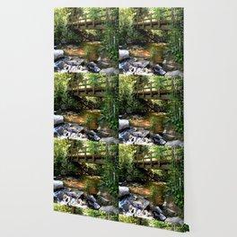 Bridge Over Fall Creek at Vallecito Wallpaper