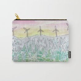 Watercolour - New Brunswick Sunset Carry-All Pouch
