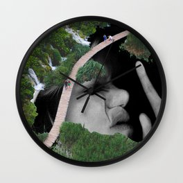 Photocopy Lake Wall Clock