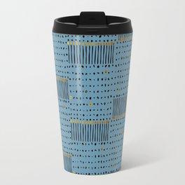 Matchstick Pattern Travel Mug