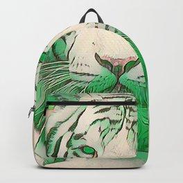 Green Tiger Backpack