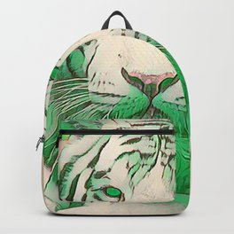Green Tiger Backpack