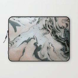 Abstract marble effect painting Laptop Sleeve