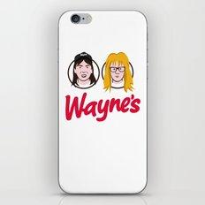 Wayne's Double iPhone & iPod Skin