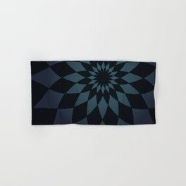Wonderland Floor in Muted Rain Colors Hand & Bath Towel