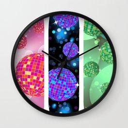 Disco Decks Wall Clock