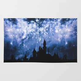 Sleeping Beauty Castle Rug