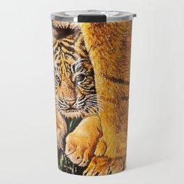 baby tiger cub Travel Mug