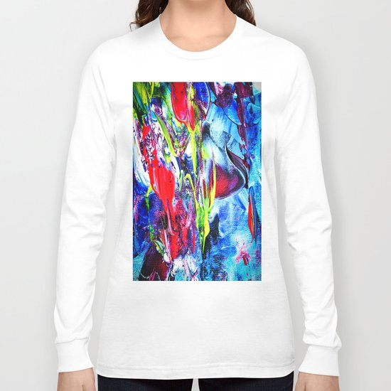 Abstract Perfection 6 Long Sleeve T-shirt