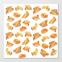 Grilled Cheese Lover Canvas Print