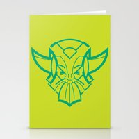 viking Stationery Cards featuring Viking by Martin Laksman
