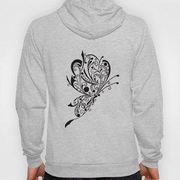Butterfly Tattoo Lineart Hoody