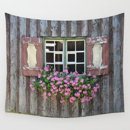Good Morning Geraniums! Wall Tapestry