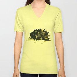 star hedgehog Unisex V-Neck