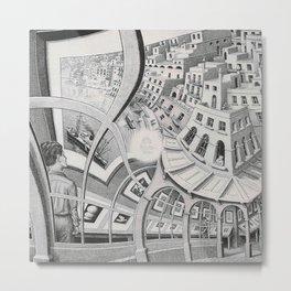 Escher - Print Gallery Metal Print