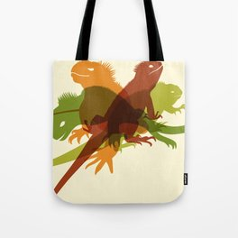 Iguanas Tote Bag