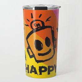International Day of HAPPINESS Travel Mug