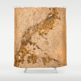 Vintage Moss Flourishes Shower Curtain