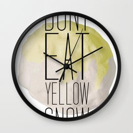 There's A Tip Wall Clock