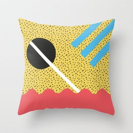 Memphis Style N°8 Throw Pillow