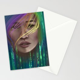 Sci-Fi Gamer Stationery Cards