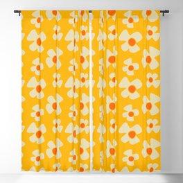 New Flower Daisy Yellow Blackout Curtain